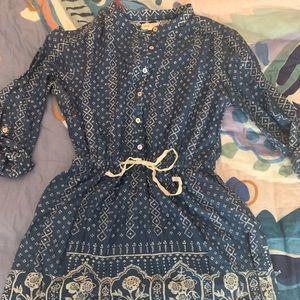 Meadow and Rue super cute denim dress